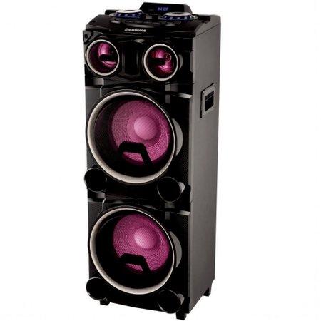 Caixa de Som Amplificadora Gradiente Power Bass - GCA103