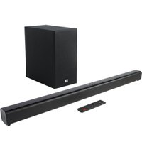 Home Theater Soundbar JBL, 220 Watts RMS, 2.1 Canais - SB160