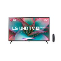 Smart TV Ultra HD 4K 55'' LG, 3 HDMI, 2 USB, Wi-Fi - 55UN7310