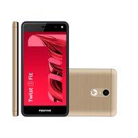 Smartphone Positivo Twist 2 Fit, 8GB, 3G, Dual Chip, Dourado - S509