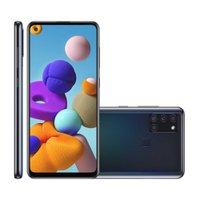 Smartphone Samsung Galaxy A21S, 64GB, 4GB, Dual Chip, Preto - A217M