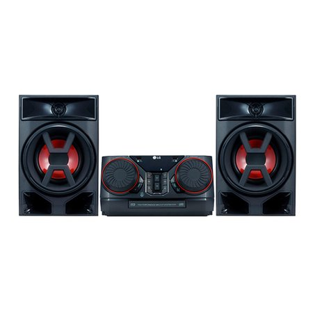 Mini System LG X Boom, 220W RMS, Multi Bluetooth, com Controle Remoto - CK43