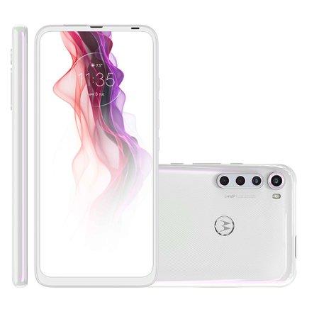 Smartphone Motorola One Fusion+, Quad Câmera, 128GB, 6,5'', Branco - XT2067