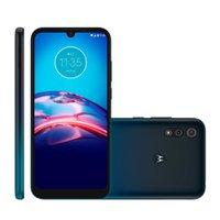 Smartphone Motorola Moto E6S, 64GB, 13MP+2MP, Tela de 6,1'', 4GB, Azul - XT2053