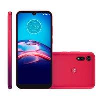 Smartphone Motorola Moto E6S, 64GB, Dual Chip, 4GB, Vermelho - XT2053