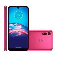 Smartphone Motorola Moto E6S, 32GB, Dual Chip, 2GB, Pink - XT2053