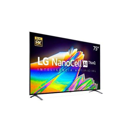 Smart TV 8K 75'' LG, NanoCell, 4 HDMI, 3 USB, Wi-Fi - 75NANO95SNA