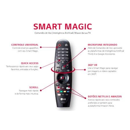 Smart TV Ultra HD LED 4K 75'', NanoCell, 4 HDMI, 3 USB, Wi-Fi - 75NANO90SNA