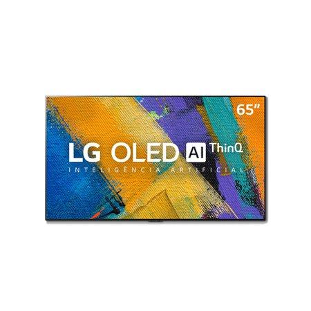 Smart TV OLED 65'' LG 4K, 4 HDMI, 3 USB, ThinQ AI com Smart Magic - OLED65GX