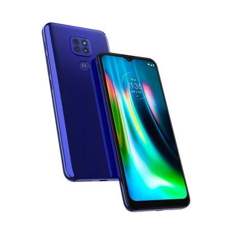 Smartphone Motorola Moto G9 Play, Câmera Tripla, 64 GB, 4G, Azul - XT2083