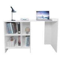 Mesa Escrivaninha Multiuso Multimóveis, Branco - 2562