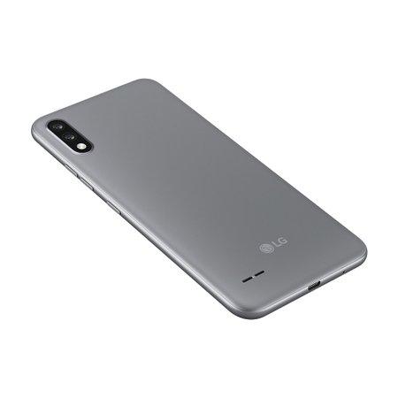 Smartphone LG K22, 4G, 32GB, 13MP + 2MP, 6,2'' Dual Chip, Titânio - LM-K200BMW