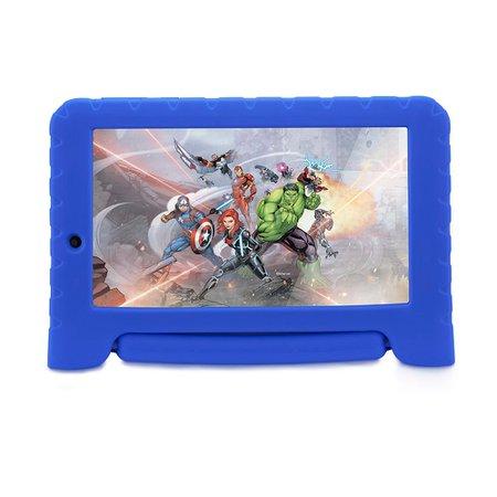 Tablet Multilaser Vingadores Plus, 7'', 16GB, Wi-Fi, Azul - NB307
