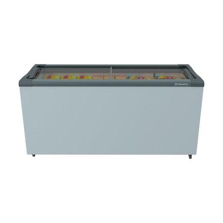 Freezer Horizontal Metalfrio 2 Portas de Vidro, 491 Litros - NF55S