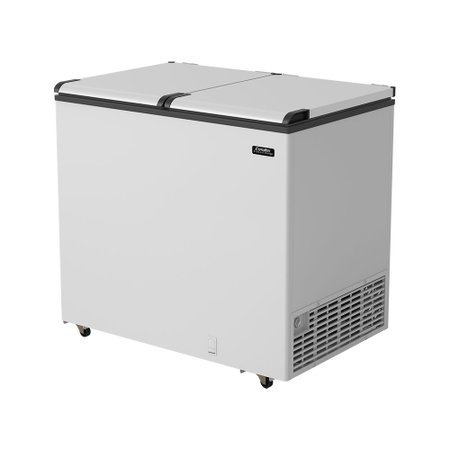 Freezer Horizontal Esmaltec 2 Porta, 325 Litros - ECH350