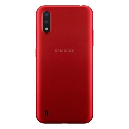 Smartphone Samsung Galaxy A01, 32GB, 13MP + 2MP, Dual Chip, Vermelho - A015M