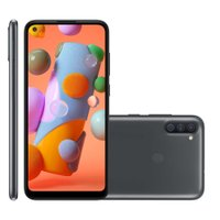 Smartphone Samsung Galaxy A11, 3GB, 64GB, Dual Chip, Preto - A115M