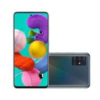Smartphone Samsung Galaxy A51, 128GB, Quad Câmera, 4G, Preto - A515F