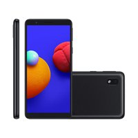 Smartphone Samsung Galaxy A01 Core, 8MP, 5,3'', 32GB, Dual Chip, Preto - A013M