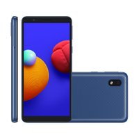 Smartphone Samsung Galaxy A01 Core, 8MP, 5,3'', 32GB, Dual Chip, Azul - A013M