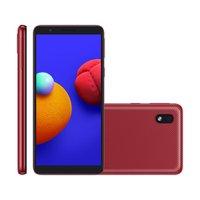 Smartphone Samsung Galaxy A01 Core, 8MP, 5,3'', 32GB, Vermelho - A013M
