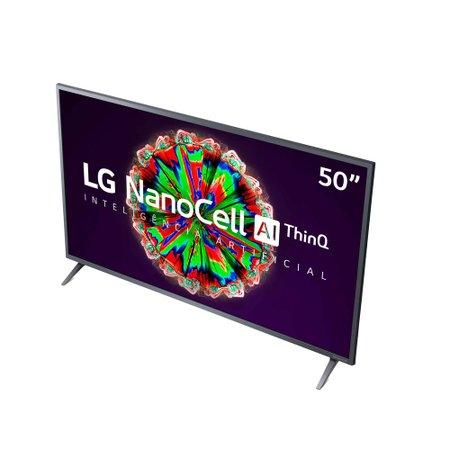 Smart TV LED 50'' LG, 4K, Wi-Fi, NanoCell, 3 HDMI, 2 USB - 50NANO79SND