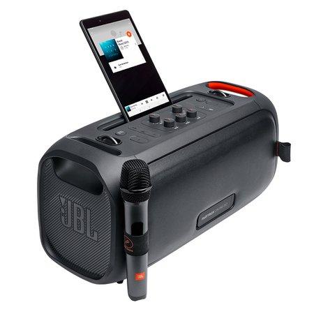 Caixa Acústica Amplificada JBL PartyBox On The Go, 4.2, Microfone