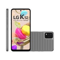 Smartphone LG K52, 4G, 64GB, Quad Câmera, Tela 6,5, Cinza - LMK420BMW