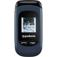 Celular Gradiente Flip Neo, até 32 GB, Dual Chip, Azul - S105A