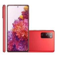 Smartphone Samsung Galaxy S20 FE, 128GB, 6GB, 4G, Dual Chip, Vermelho - G780F