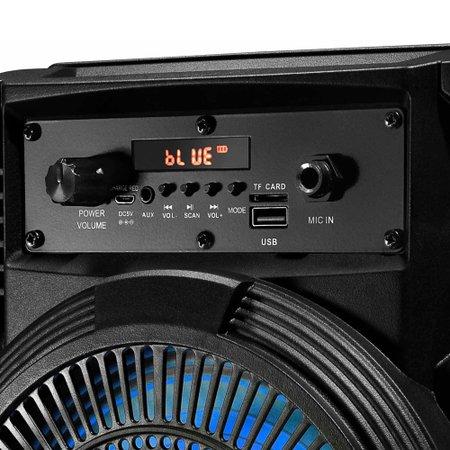 Caixa Amplificada Lenoxx, Bluetooth, 120 Watts RMS, Preto - CA80