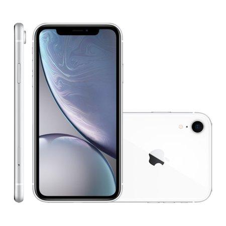 iPhone XR Apple, 128GB, Tela 6.1'', iOS 12, 12MP, 4G, Branco