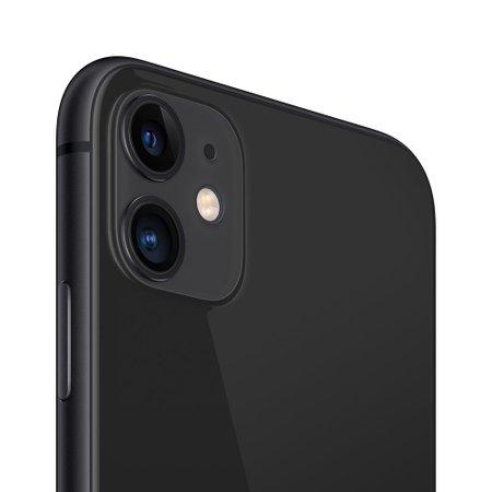 iPhone 11 Apple, 64GB, 12MP, 4G, iOS 13, Preto