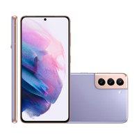 Smartphone Samsung Galaxy S21, 5G, Câmera Tripla, 128GB, Violeta - G991B