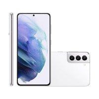 Smartphone Samsung Galaxy S21, 5G, Câmera Tripla, 128GB, Branco - G991B