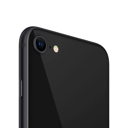 iPhone SE Apple, 64GB, 12MP, 4G, iOS 14, Preto