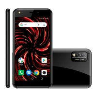 Smartphone Positivo Twist 4 Fit, 32GB, Dual Chip, Preto - S509N