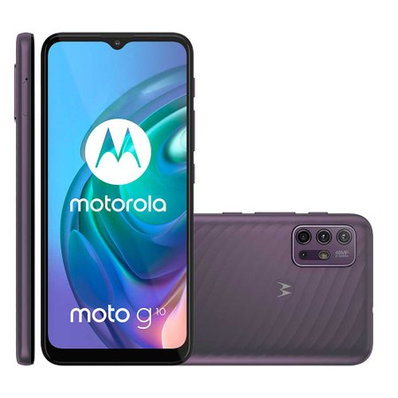 Smartphone Motorola Moto G10, Quad Câmera, 64 GB, 4G, Cinza - XT2127
