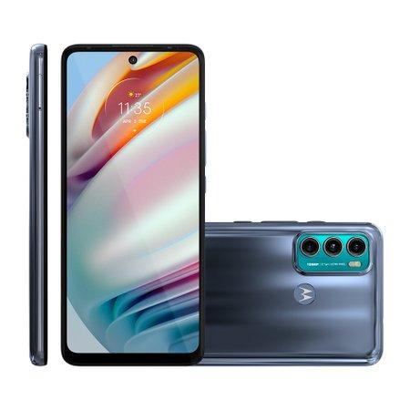 Smartphone Motorola Moto G60, Câmera Tripla, 128GB, 4G, Azul - XT2135