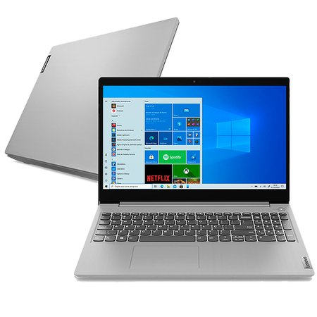 Notebook Lenovo IdeaPad 3i, Dual Core, 4GB RAM, 128GB SSD, Windows 10