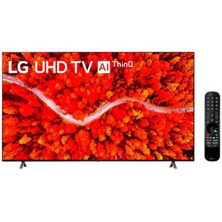 Smart TV 82'' LG, 4K UHD, WiFi, Bluetooth, LG ThinQ AI, 4 HDMI - 82UP8050PSB