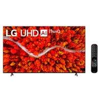 Smart TV 75'' LG, 4K UHD, WiFi, Bluetooth, LG ThinQ AI, 4 HDMI - 75UP8050PSB