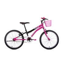 Bicicleta Houston Nina Aro 20 Rígida 1 Marcha - Preto