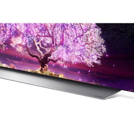 Smart TV OLED 77'' LG, 4 HDMI, 3 USB, Wi-Fi, ThinQ AI, Smart Magic - OLED77C1