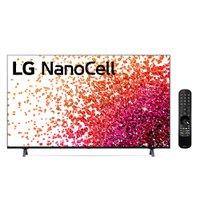 Smart TV 86'' LG NanoCell 4K UHD 4 HDMI 3 USB Wi-Fi ThinQAI - 86NANO75