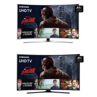 UHD TV LED Samsung 49  4K UN49KU6400 + UHD TV LED Samsung 40  4K UN40KU6300