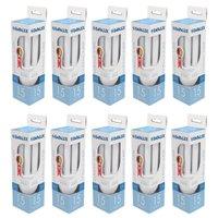 10 Lâmpadas Fluorescentes Empalux, 15W, 6.400K, 110V - FL11516
